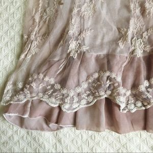 Simply Couture Tops - Simply Couture blush lace top